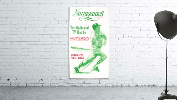 1969 Narragansett Beer Red Sox Ad