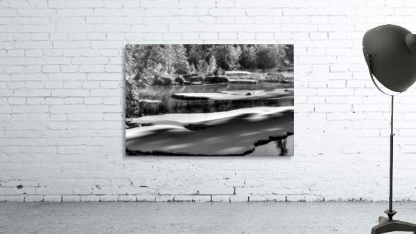 Frosty Creek In Alberta