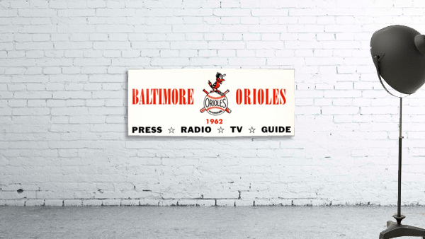 baltimore orioles press guide row one