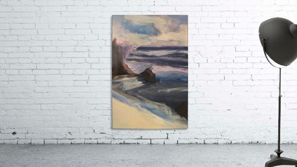 Watercolor Beachscape