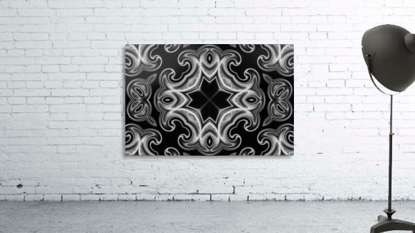 Classic Fractal in black and white