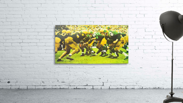 best notre dame football art