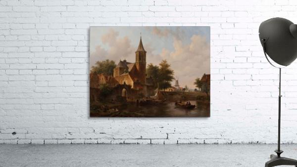 Stadsgezicht mogelijk Den Haag