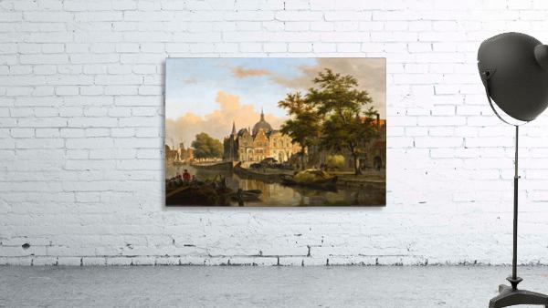 View of a Dutch City