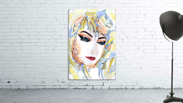 Chic Artistic Feminine Portrait