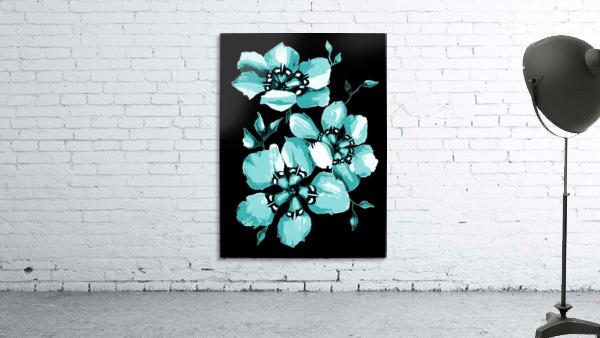 Harmonious Artdeco Floral Pattern