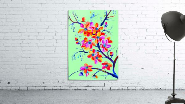Watercolor Sakura Japanesse Cherry Flowers