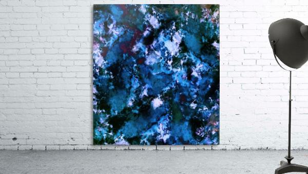 Smouldering blue