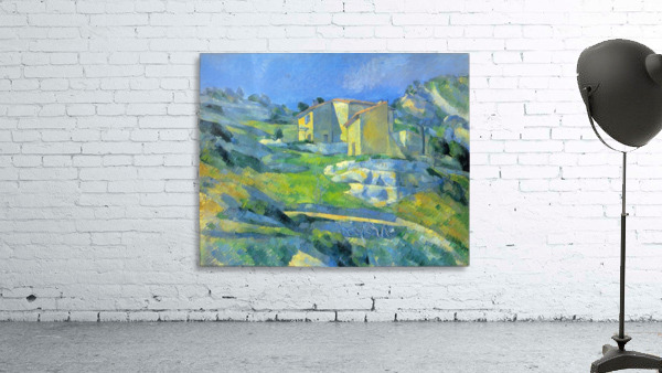 House in the Provence by Cezanne