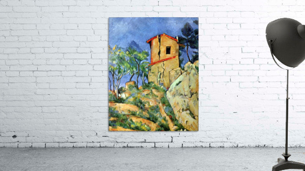 House with Walls by Cezanne