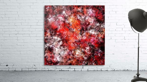 The red sea foam