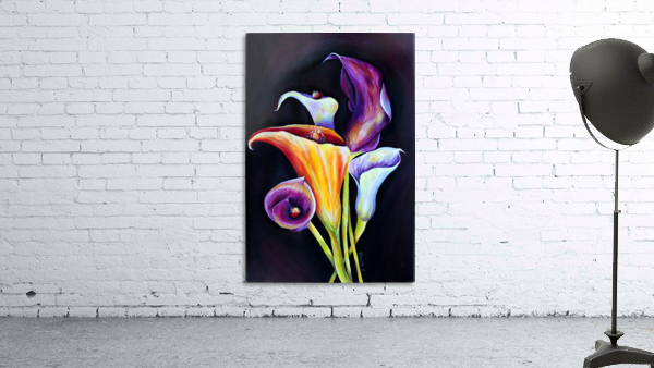 Calla Lilies in Blooming Bouquet
