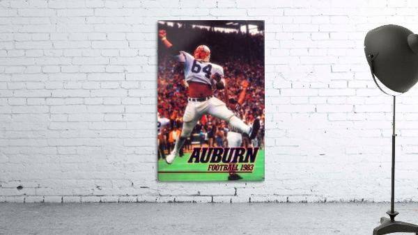 auburn football art 1983