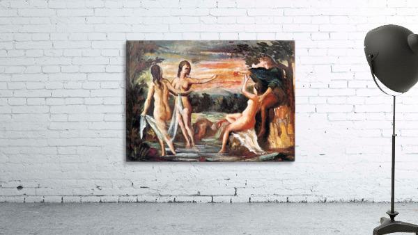 Judgement of Paris by Cezanne