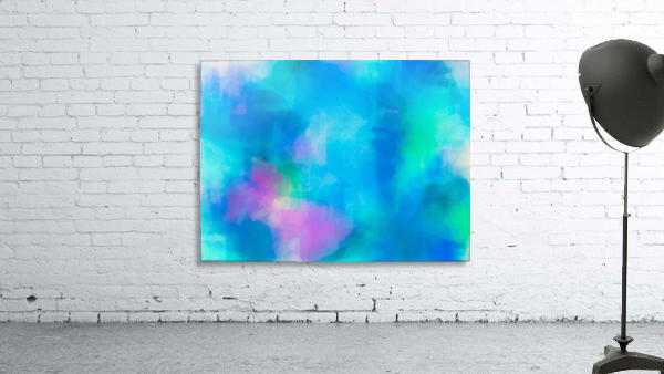 splash painting texture abstract background in blue and pink