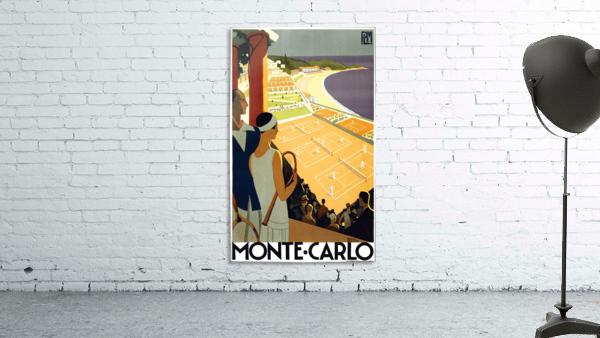 Tennis in Monte Carlo