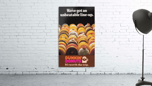vintage dunkin donuts ad