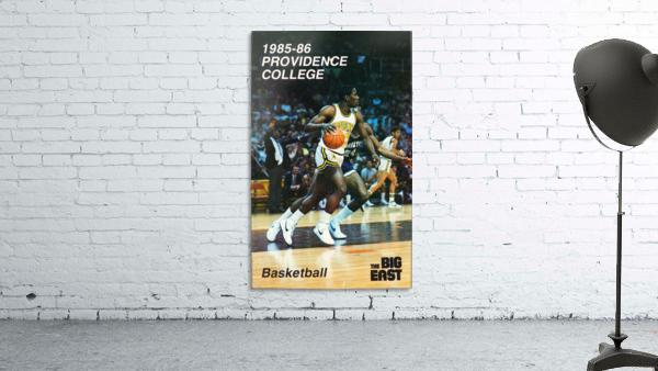 1986 providence basketball poster