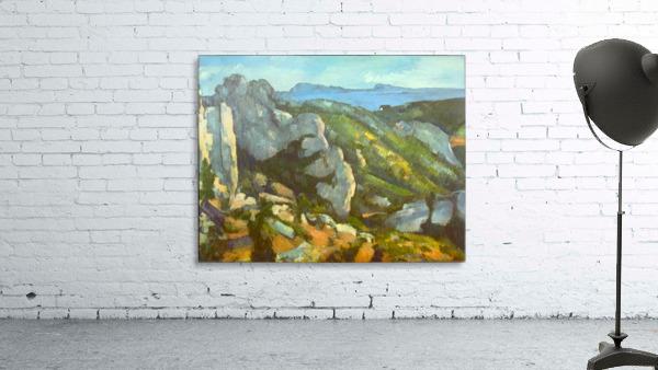 L Estaque by Cezanne