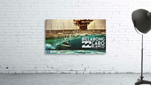 2015 BILLABONG Cabo Blanco Print - Surfing Poster
