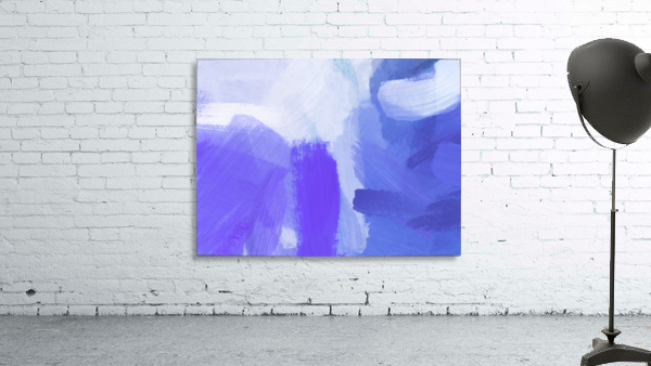 splash painting texture abstract background in blue and purple