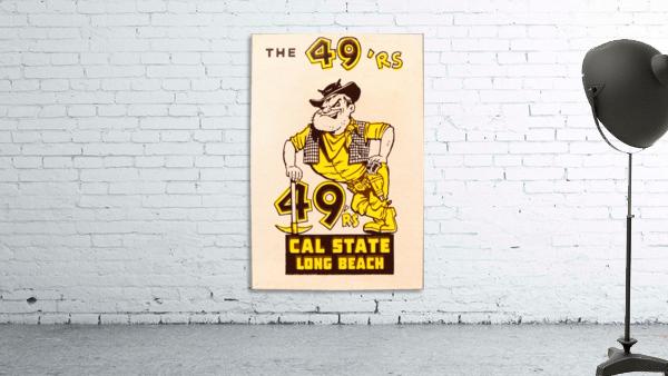1965 cal state long beach 49ers art