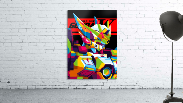 Wings Gundam Zero Pop Art