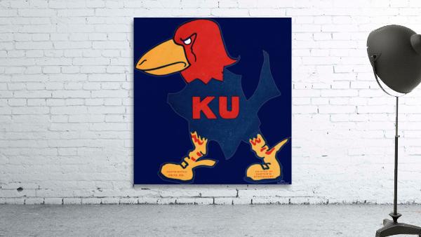 1929 Kansas Jayhawk Art