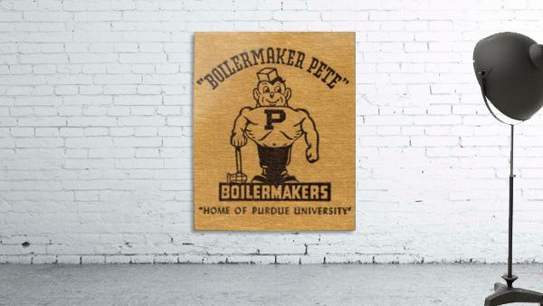 1950s Purdue University Boilermaker Pete Art