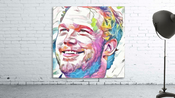 Chris Pratt - Celebrity Abstract Art