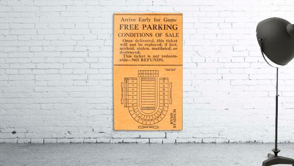 vintage college football stadium map art byrd stadium college park md