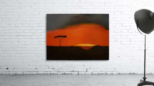 Sunrise of Serengeti