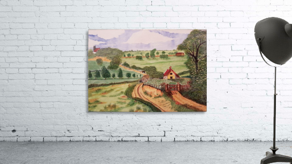 Village countryside