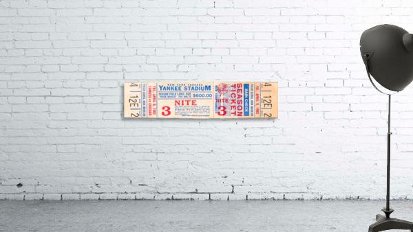 1982 new york yankees season ticket $600