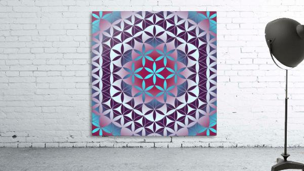 Flower of Life Hexagon Pattern