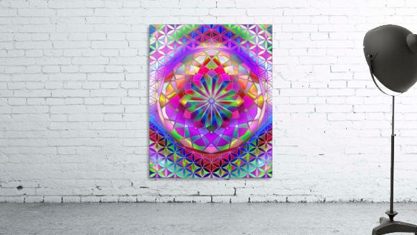 Crystal Flower Mandala