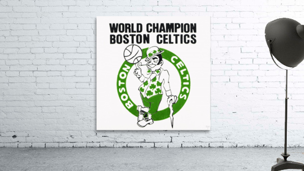 1981 Boston Celtics World Champions Art Reproduction