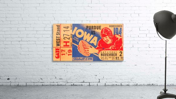 1940 Iowa vs. Purdue
