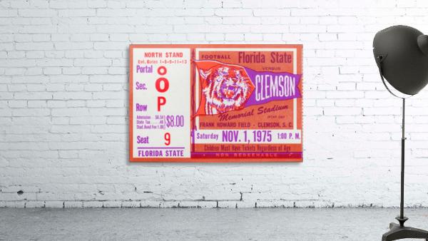 1975 Florida State vs. Clemson