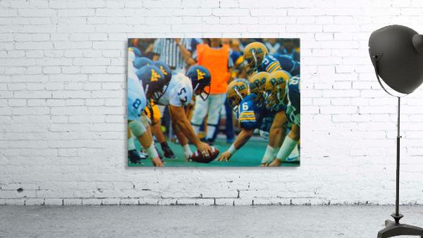 1981 College Football Photo West Virginia Pitt Panthers Wall Art