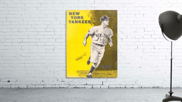 1965 new york yankees poster