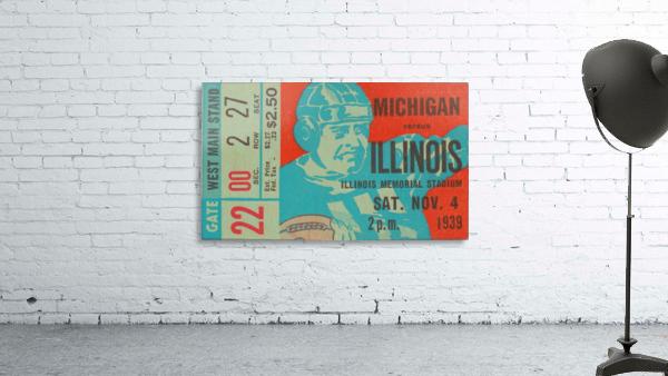 1939 Michigan vs. Illinois