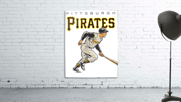 vintage pittsburgh pirates wall art