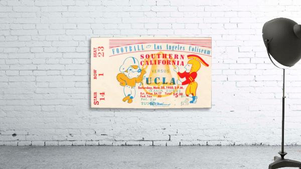 1950 usc ucla los angeles la coliseum college football sports art