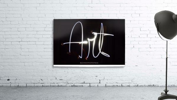 Art light calligraphy
