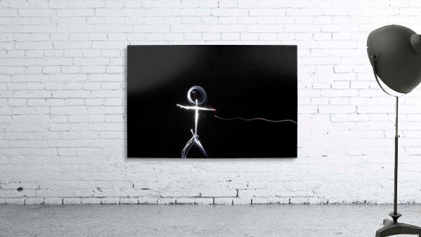 light stick man
