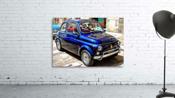 Fiat 500 Dark Blue Version
