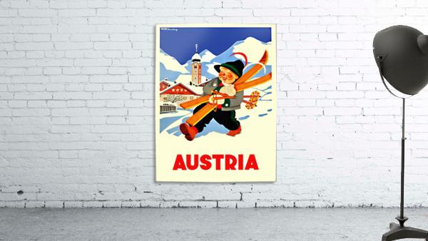 Little Skier from Austria
