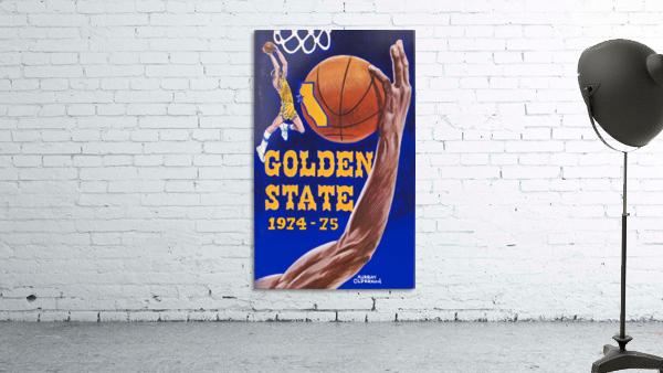 1974 golden state warriors basketball art murray olderman artist