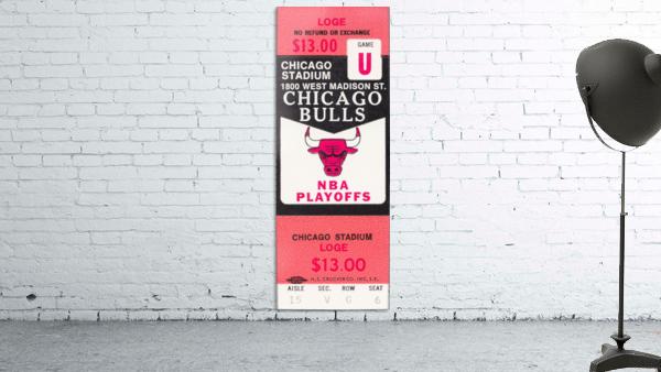 1982 chicago bulls nba playoffs phantom ticket